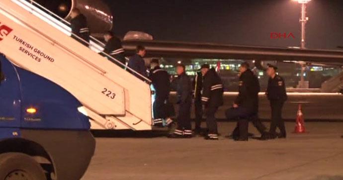 Batan geminin personeli Rusya'ya döndü