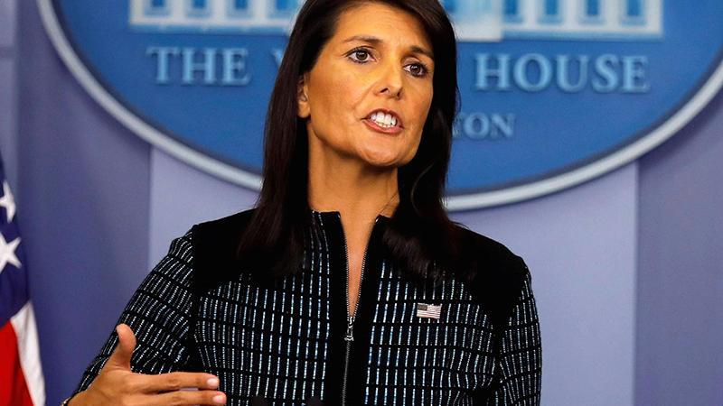 Haley: Başkan Trump ile ilişkilerimiz mükemmel