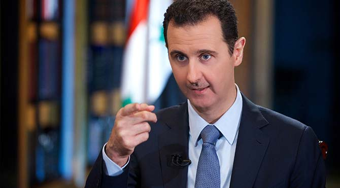 Esad ile masa hazırlığı