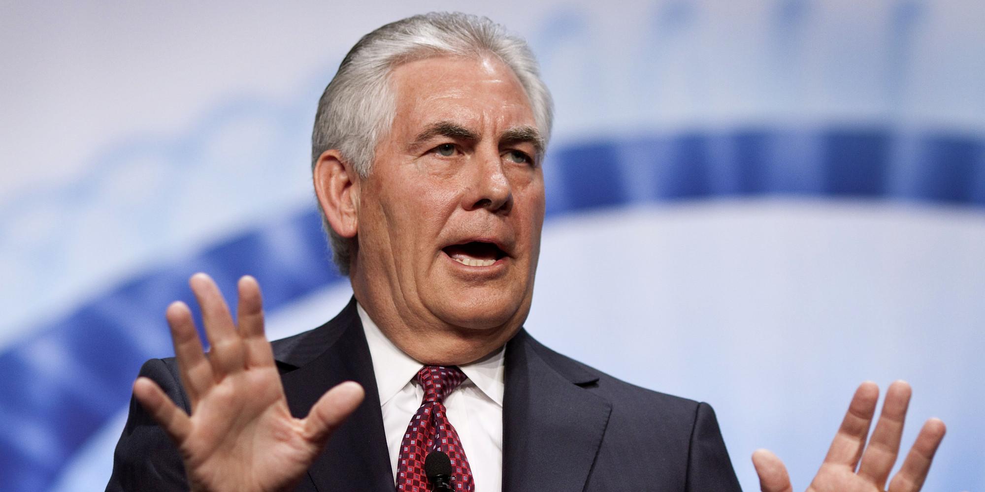 Tillerson'un 3 teklifi