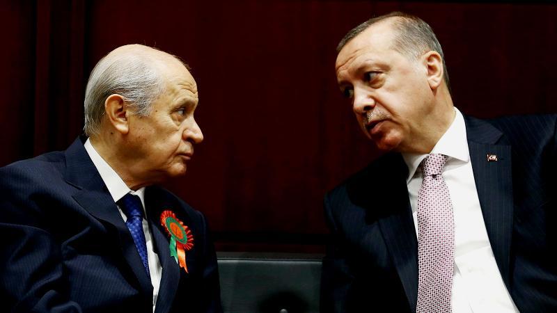 Erdoğan'dan Bahçeli'ye Kerkük ve Musul uyarısı