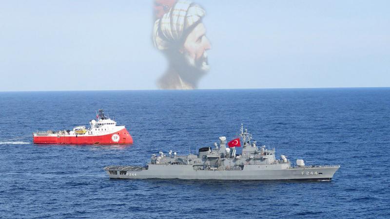 'Barbaros'lar Akdeniz'de