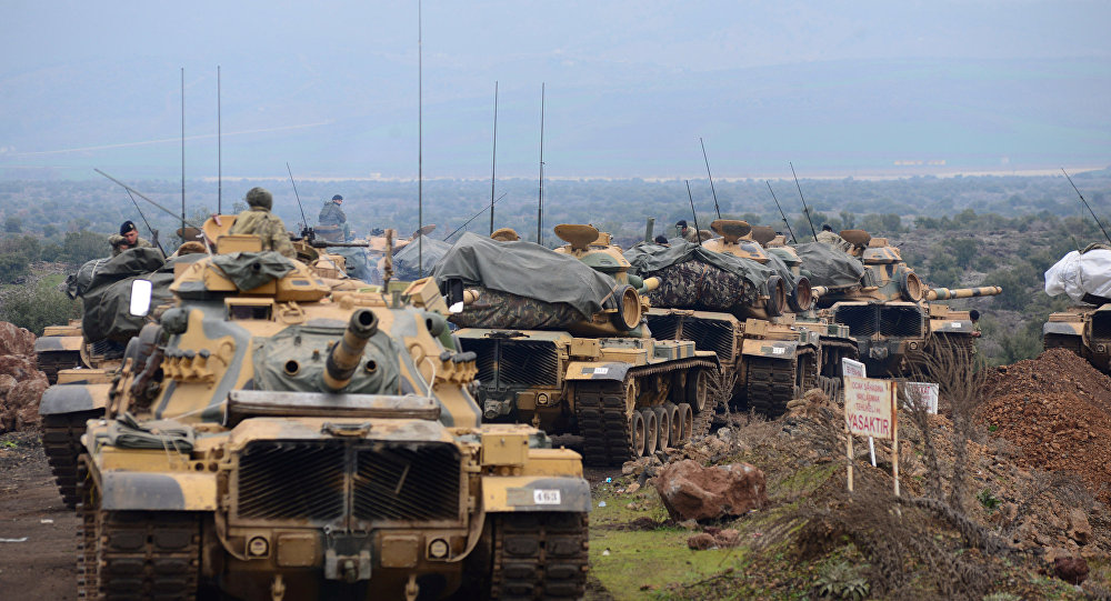 TSK: Zeytin Dalı Harekatı'nda bir tank saldırıda isabet aldı