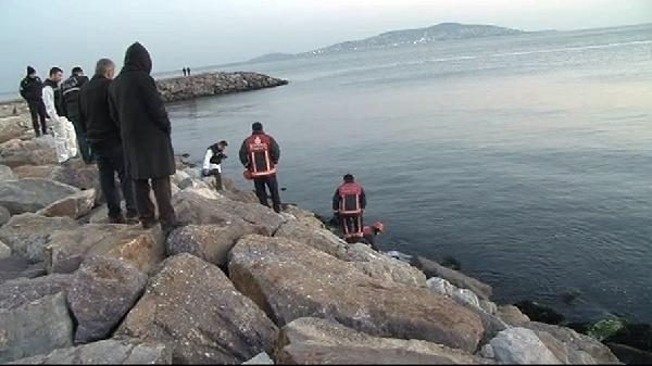 Maltepe'de denizden kadın cesedi çıktı